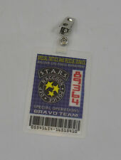 Resident Evil ID Badge-STARS Special Operations Bravo Team cosplay costume prop