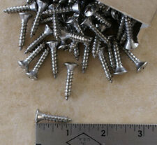 "Stainless Steel Oval Head Phillips Sheet Metal Screws - #12 x 1""  - 100 CT"