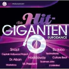 DIE HIT GIGANTEN EURODANCE 2 CD HADDAYWAY UVM NEU