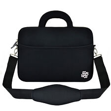 "Laptop Ultrabook 13"" 13.3"" Messenger Bag Carry Anti-Shock Sleeve Case Cover"
