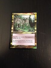 MTG MAGIC APOCALYPSE OVERGROWN ESTATE (FRENCH DOMAINE LUXURIANT) NM FOIL