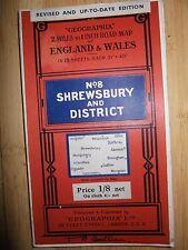 Geographia no 8 Shrewsbury and District 1935