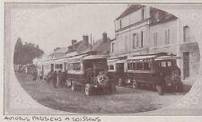 1919  --  AUTOBUS PARISIENS A SOISSONS   3E165