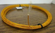 10 feet 20 AWG Silver polyimide film PTFE Wire orange yellow 19 strand