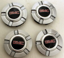 New GMC Sierra Yukon Center Caps Set of 4 for 18 in or 20 in Z71 Wheels Rims