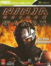 Ninja Gaiden Black Prima Official Game Guide