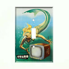 Italian Mermaid Light Switch Cover Light Switch Plate Vintage Ad