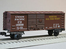 LIONEL JUNCTION UNION PACIFIC BOXCAR o gauge train 184032 from up set 6-81287 B