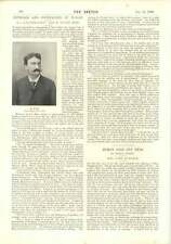 1896 Mlle Janette Aquarium Great Yarmouth Mr Lucien Marc