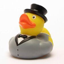 Canard de bain jeune marié-Canard en plastique