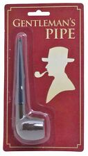 GENTLEMAN'S PIPE 1920s 1930s ADULT FANCY DRESS PARTY ACCESSORY