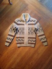 Vintage Pendleton Big Lebowski Sweater Dude High Grade Med Wool Shawl Cowichan