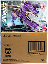 Brand New Bandai Tamashii Web Exclusive S.H.Figuarts Digimon Metal Garurumon USA
