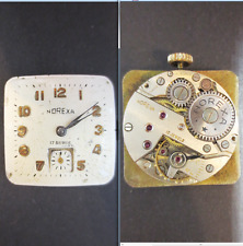 norexa cal eta venus movimento movement manual old wrist watch for parts vintage