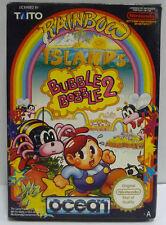 RAINBOW ISLANDS BUBBLE BOBBLE 2 - NINTENDO NES PAL A VERSION BOXED