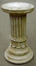 "16"" Greek Roman Column Pedestal Style Fluted Home Decor"