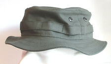 RECCE Hat  Boonie     olive drab Moleskin fabric   - Made in Germany -