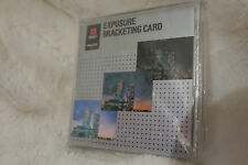 Minolta Exposure Bracketing Card boxed new