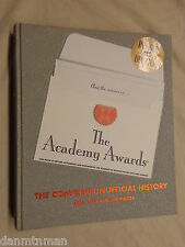 The Academy Awards The Complete Unofficial History by Gail Kinn and Jim Piazza