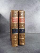 Blanchard Vie des hommes célèbres gravures biographie littérature philosophie