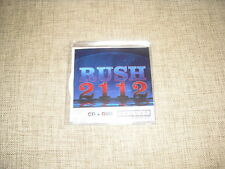 RUSH - 2112 - CD + DVD ADVANCE ACETATE DJ DELUXE EDITION PROMO ALBUM SET  UNIQUE