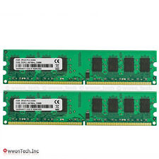 New 4GB 2x2GB PC2-5300 DDR2-667MHz 240pin Desktop Memory For Intel 945 G31