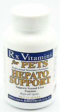 Rx Vitamins For Pets - Hepato Support -90 Capsules - Liver Support 4 Dogs & Cats
