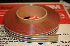 3M® Ribbon Cable 100 ft. Spool - 20 Conductor - 28 Gauge
