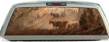 Horses Mountains #02 Rear Window Graphic Tint Truck Stickers Decals