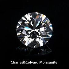 0.5 Ct 5 mm Round Brilliant Cut Genuine Charles & Colvard Moissanite Loose Stone