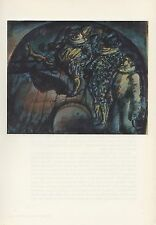 "1961 Vintage ROUAULT ""CIRCUS, or PIERROT, PUNCH, and HARLEQUIN"" COLOR Lithograph"