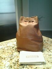 NWT Fossil Leather Brown Special Edition Vintage Reissue Sling Backpack