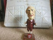 Rare 2007 Washington Nationals Tom Jefferson Bobble - Damage to Ponytail