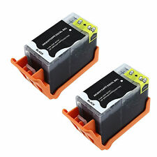 2 pk New 920XL Black Ink Cartridge For HP OfficeJet 6000 6500 6500A 7000 7500