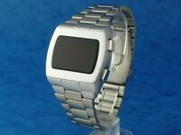 70s 1970s Old Vintage Style LED LCD DIGITAL Rare Retro Mens Watch 12 & 24 hour p