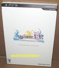 PS3 Final Fantasy X/X-2 HD Remaster Exclusive Collector's Edition New Sealed