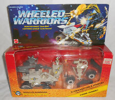 JAYCE AND THE WHEELED WARRIORS QUICK DRAW 100% COMPLETE WITH BOX MATTEL 1985