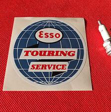 "Esso Touring Service 4"" sticker Aufkleber autocollant"
