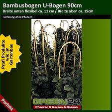 Bambus U-Bogen, Bambusstab gebogen, Kletter- Rankhilfe für Pflanzen, Rankgerüst