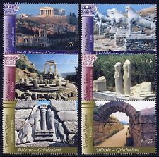 UN - All 3 Offices . 2004 Greece World Heritage (6) . Mint Never Hinged