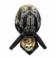 Desperado Bandana Biker Do Doo Du Rag Head Wrap Skull cap Hat New CapSmith