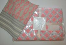 2 PC Pottery Barn Baby Soho Nursery Bedding Set Quilt & Crewel Decorative Sham