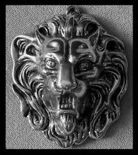 AUSSERGEWÖHNLICHE Schwere PREMIUM Gürtelschnalle NEU Löwenkopf LÖWE Originell 1A