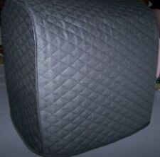 Black Double Quilted Fabric Cover for Zojirushi 2 Pound Breadmaker Machine NEW