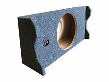 Subwoofer Sub Box for 2010 Ford F150 Super Crew Cab Supercrew Truck Single 12""