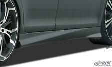 RDX Seitenschweller OPEL Corsa E Schweller links + rechts Spoiler ABS Turbo-R