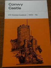 Vintage Booklet Official Guide CONWY CASTLE 1961 HMSO Map of Welsh Castles Wales