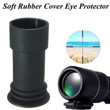Soft Rubber Cover 39mm Inner Diameter Eye Protector For Airsoft Rifle
