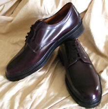 NEW TODS Eggplant Leather OXFORDS SHOES Womens EU 40 US 9 Made in Italy
