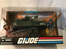 GI JOE Cobra H.I.S.S. Black TANK with HISS COMMANDER 25th Anniversary 2008 NEW
